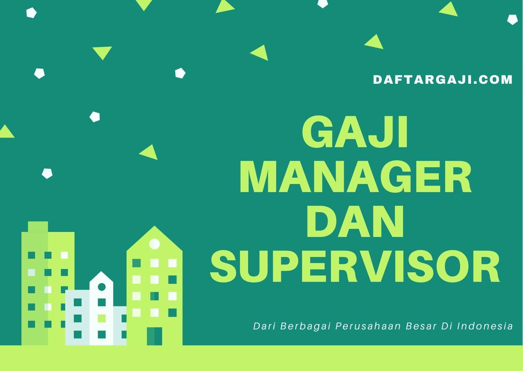 Gaji Manajer Dan Supervisor Asean Multimedia Interactive Network